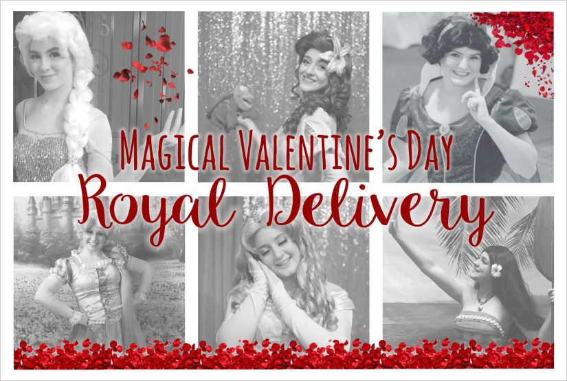 Magical Valentine's Day Royal Delivery
